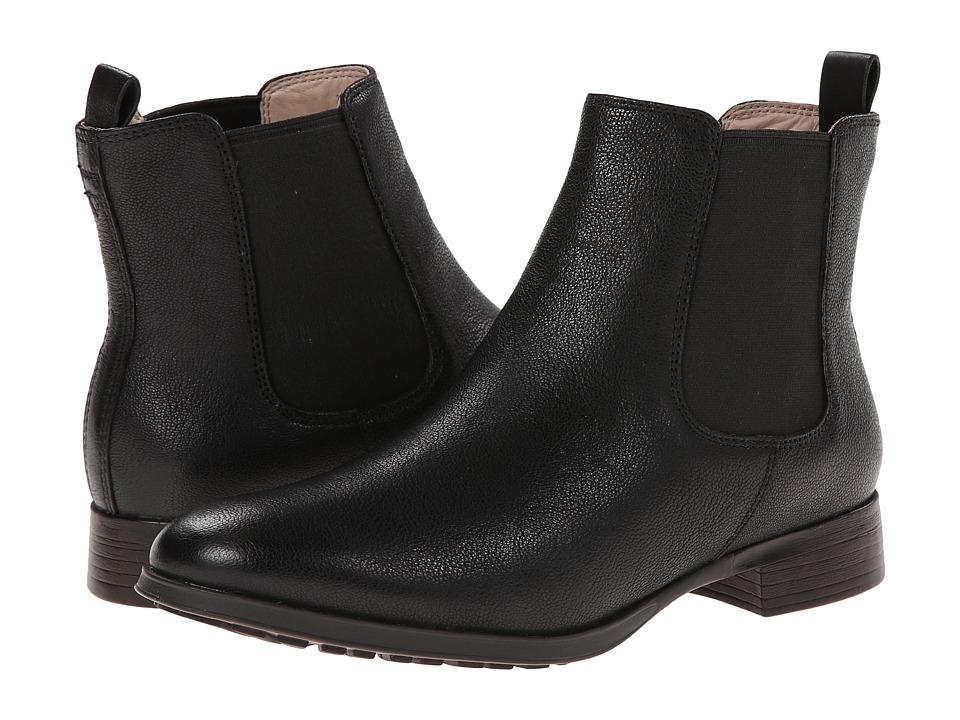 Clarks - Mariella Busby (Black Leather) Women