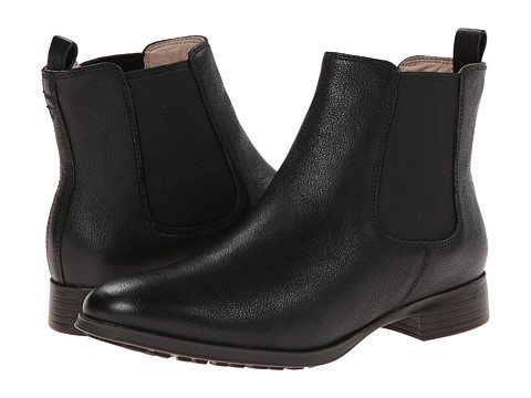 Clarks - Mariella Busby (Black Leather) Women's Boots