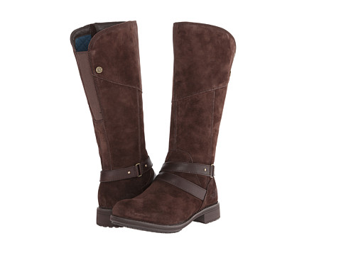 The North Face - Bridgeton (Demitasse Brown/Mediterranea Green) Women's Boots