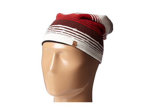 Billabong - Sidewayz Beanie (Black/Red) Beanies