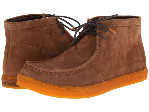Hush Puppies - Aquaice Wallaboot (Dark Tan Suede) Men