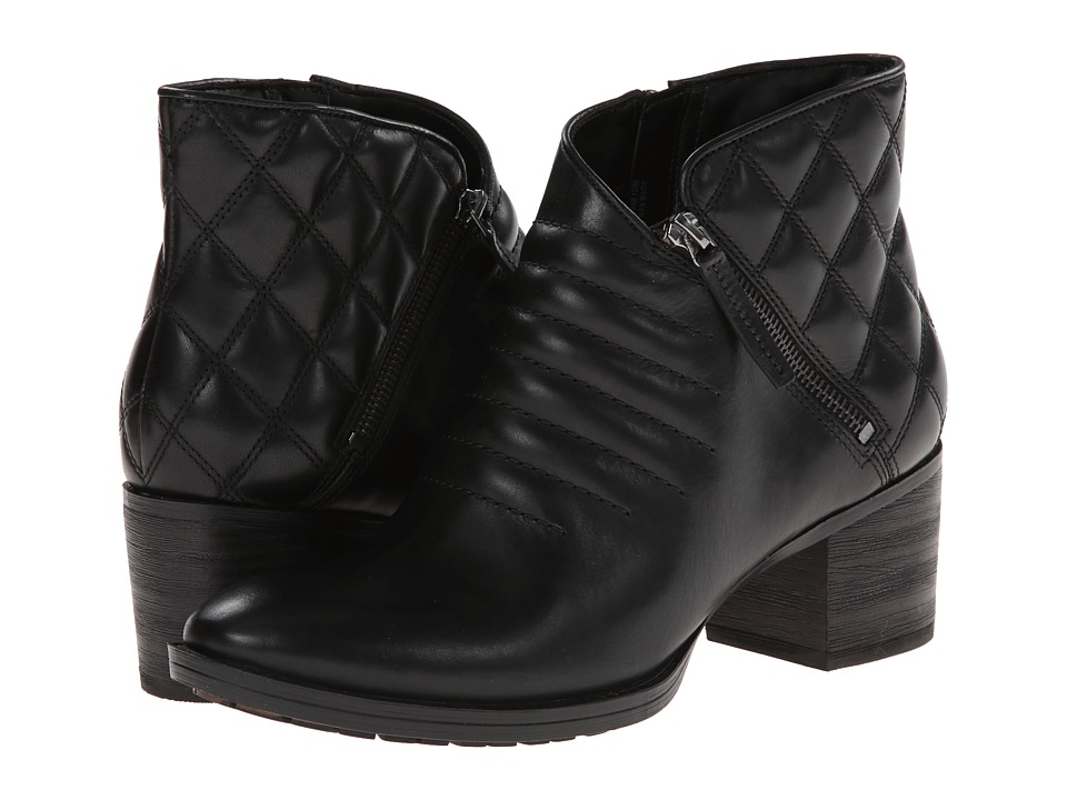Clarks - Movie Retro (Black Leather) Women's Boots