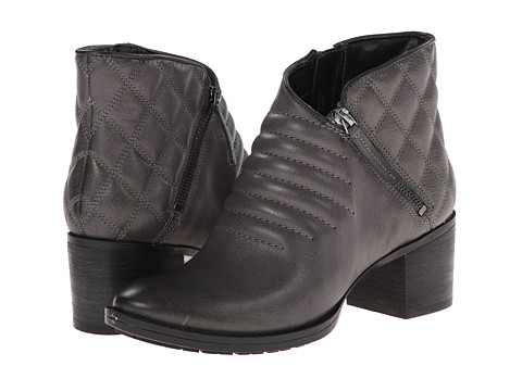 Clarks - Movie Retro (Dark Grey Leather) Women's Boots