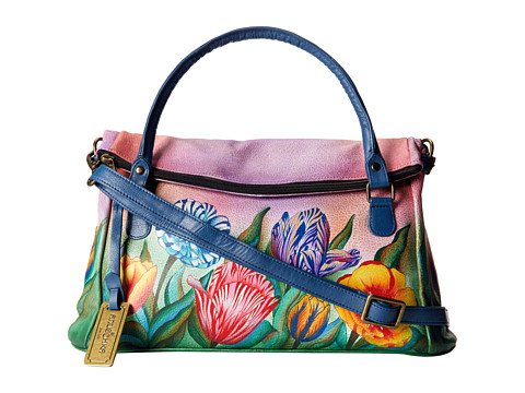 Anuschka Handbags - 527 (Turkish Tulips) Handbags