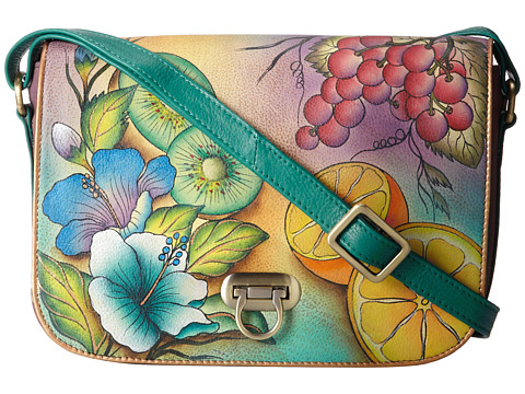 Anuschka Handbags - 512 (Fruity Fiesta) Cross Body Handbags