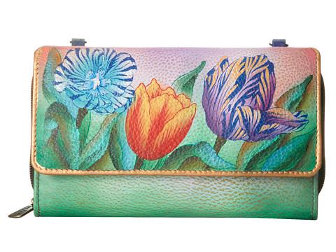 Anuschka Handbags - 1116 (Turkish Tulips) Cross Body Handbags