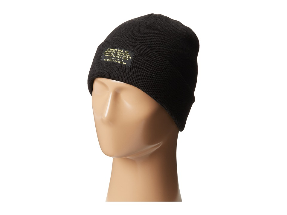 Element - Platoon Beanie (Black) Beanies