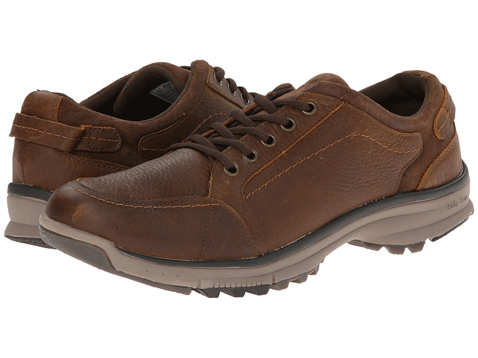 Hush Puppies - Judah Cabe (Brown WP Leather) Men's Shoes