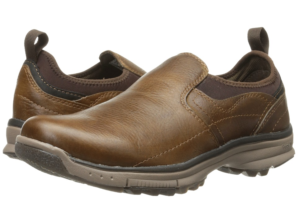 Hush Puppies - Joel Cabe (Brown WP Leather) Men's Shoes