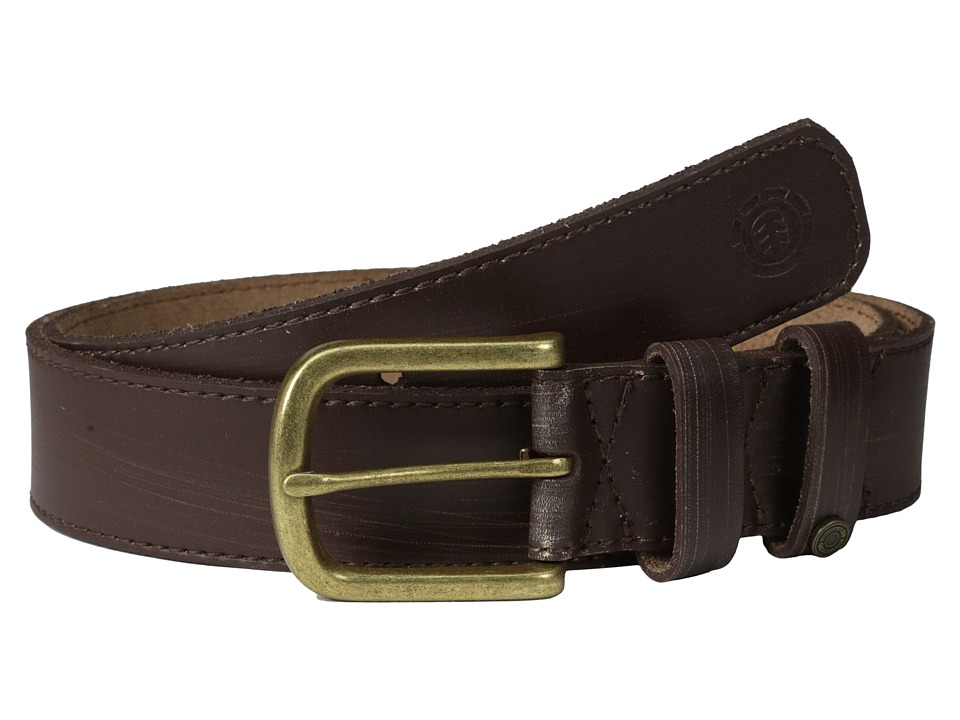 Element - Vault Belt (Chocolate) Men's Belts