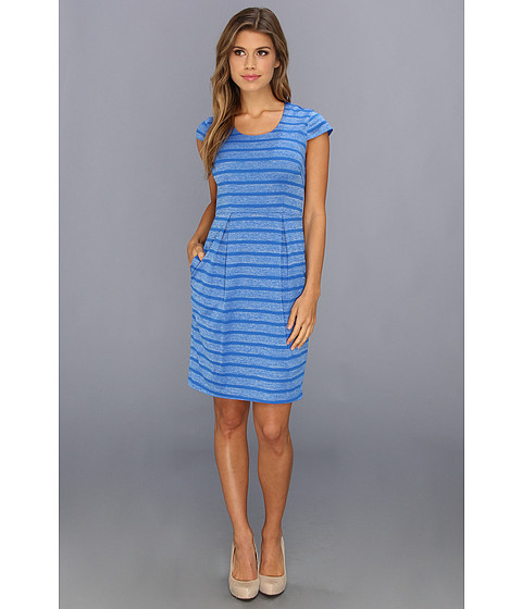 Marc New York by Andrew Marc - Short Sleeve Dress MD4B2102 (Blue Jay) Women