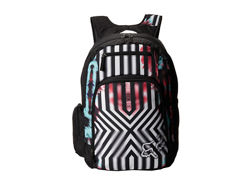 Fox - Blurred Backpack (White) Backpack Bags
