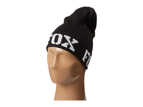 Fox - Shock Slouch Beanie (Black) Beanies