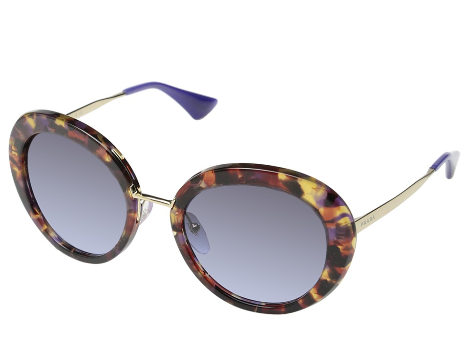 Prada - 0PR 16QS (Violet/Violet Gradient) Fashion Sunglasses