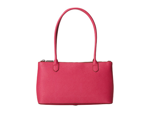 Hobo Lola (Pink Saffiano and Venice Leather) Shoulder Handbags