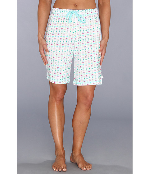 Karen Neuburger - Pool Party knCool Bermuda Short (Novelty/Aquamarine) Women's Pajama