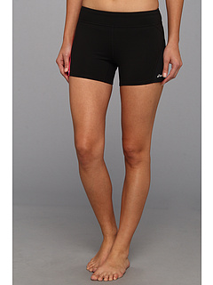SALE! $15.99 - Save $14 on ASICS Straight Sets Shorty (Black Pink Glo) Apparel - 46.70% OFF $30.00