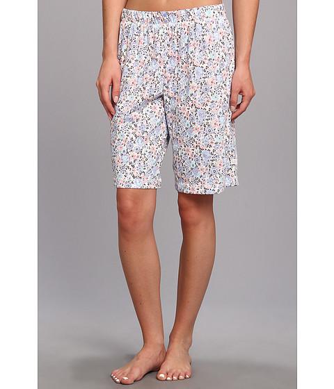 Karen Neuburger - Easy Rider knCool Bermuda Short (Ditsy/Lavender) Women's Pajama