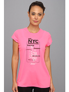 SALE! $14.99 - Save $15 on ASICS New York Map S S (Neon Pink) Apparel - 50.03% OFF $30.00