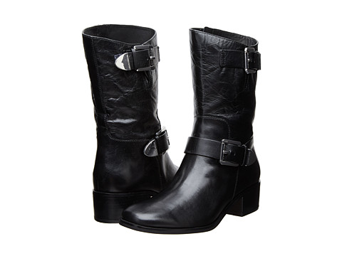 MICHAEL Michael Kors - Robin Boot (Black Distressed Vachetta) Women's Boots