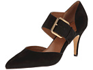 Corso Como Carmina (Black Nubuck) Women's Shoes