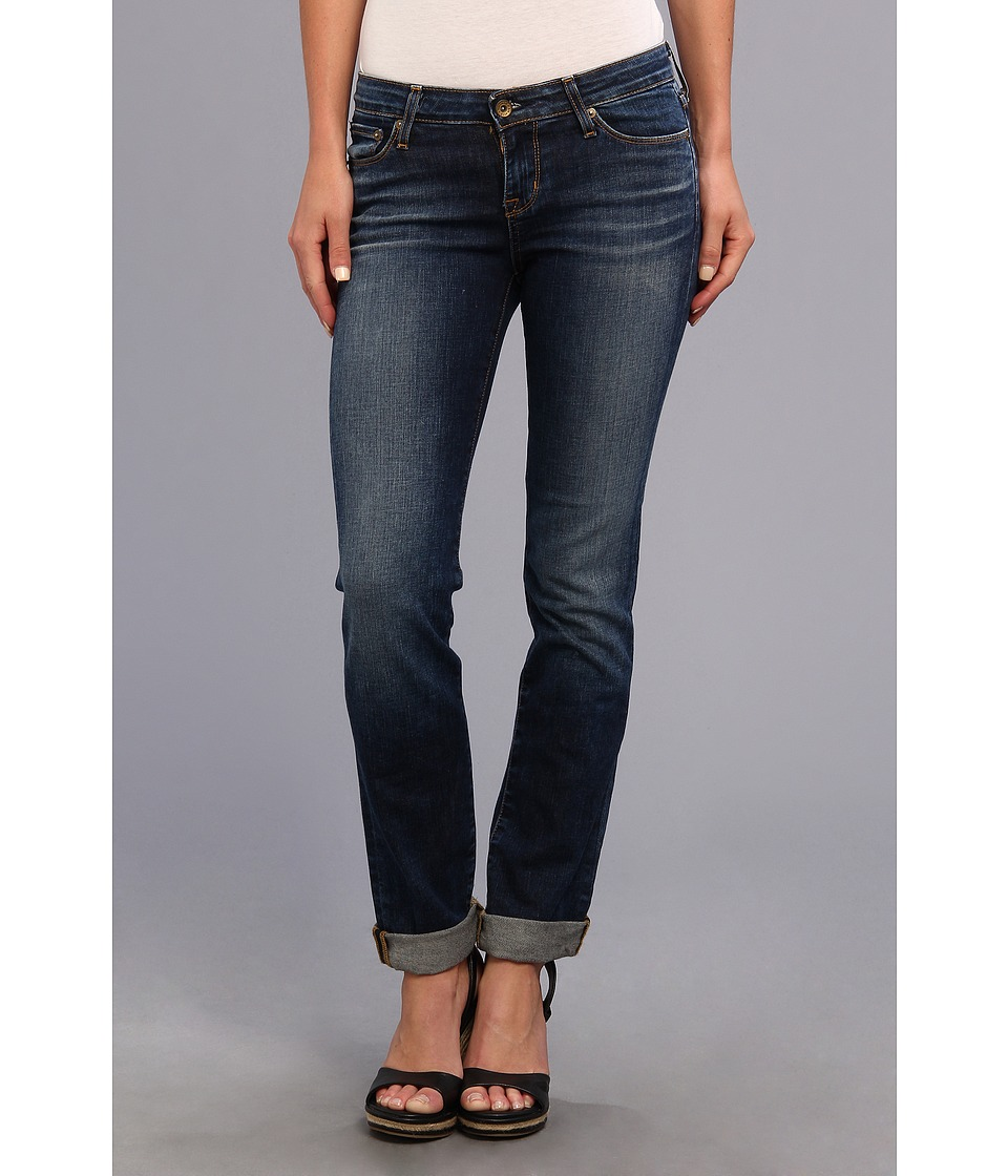 Big Star - Kate Mid Rise Straight in 6 Year Strand Blue (6 Year Strand Blue) Women's Jeans