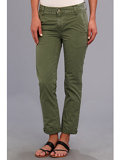 SALE! $59.99 - Save $38 on Big Star Avery Boyfriend Chino Crop in Olive (Olive) Apparel - 38.79% OFF $98.00