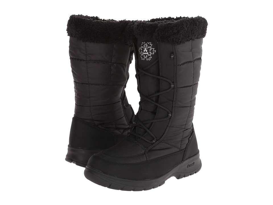 Kamik - NewYork 2 (Black) Women's Cold Weather Boots