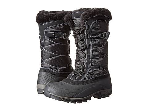 Kamik - Snowvalley (Black) Women's Cold Weather Boots