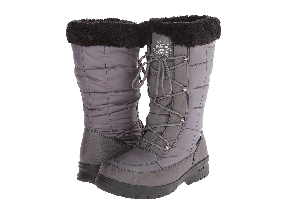 Kamik - NewYork 2 (Charcoal) Women's Cold Weather Boots