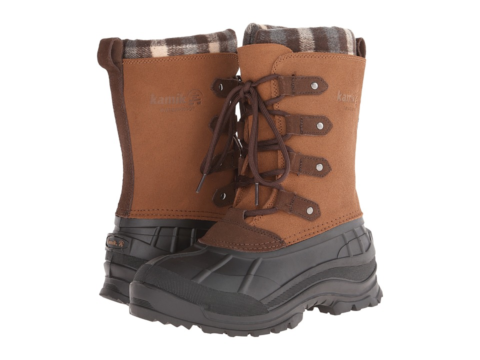 Kamik - Calgary (Tan) Women's Cold Weather Boots