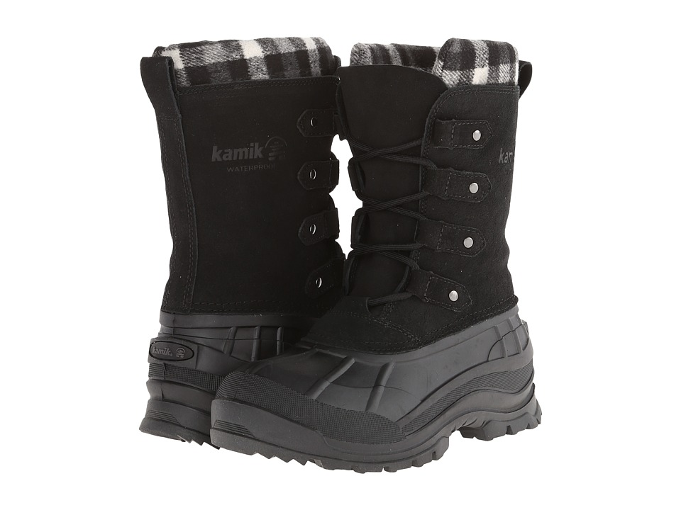 Kamik - Calgary (Black) Women's Cold Weather Boots