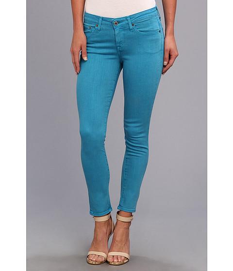 Big Star - Alex Mid Rise Skinny Crop in Azul (Azul) Women's Jeans