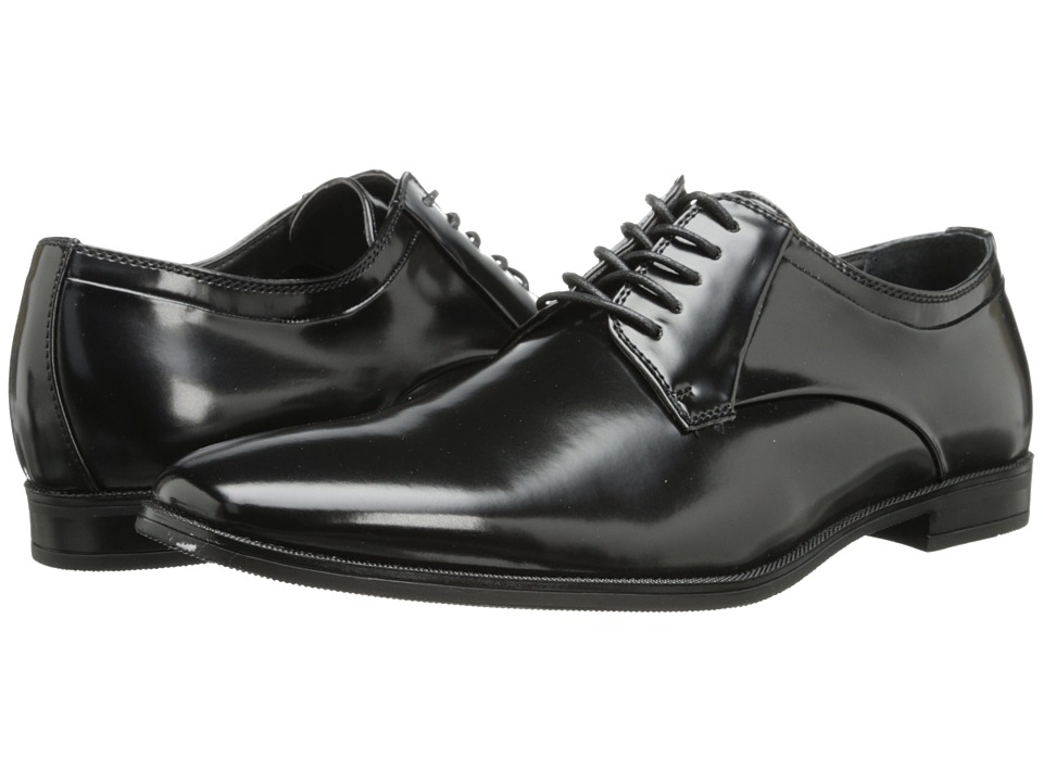 Calvin Klein - Hadyn (Black Box Smooth) Men's 1-2 inch heel Shoes