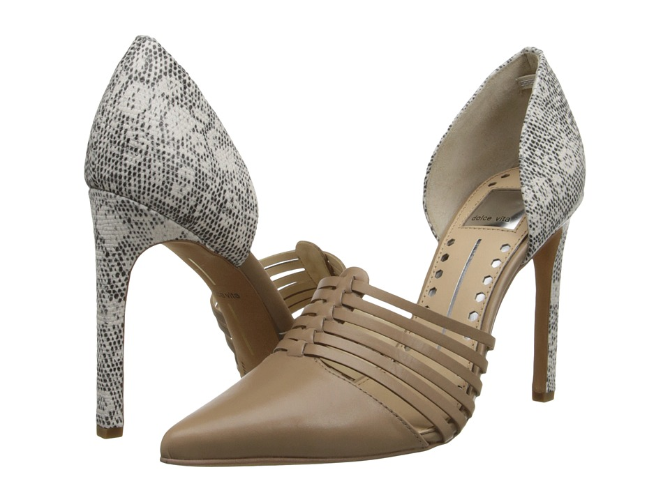 Dolce Vita - Kisa (Nude Leather) High Heels