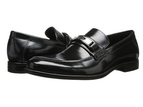 Calvin Klein - Armond (Black Box Smooth) Men's Slip-on Dress Shoes