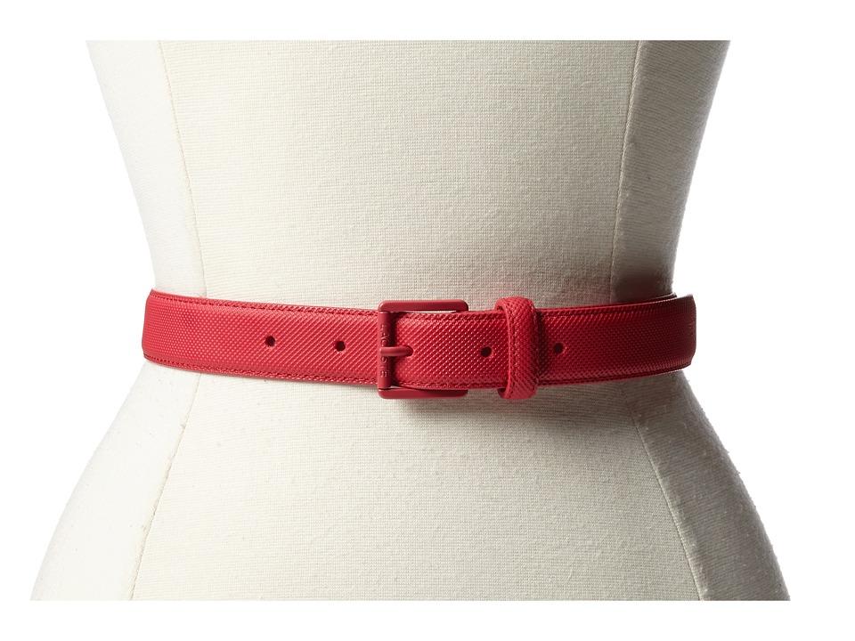 Lacoste - L.12.12 Belt (Petunia Pink) Women's Belts