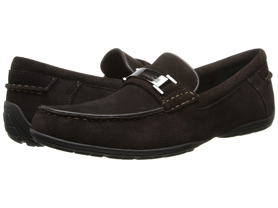 Calvin Klein - Wallace (Dark Brown Suede) Men