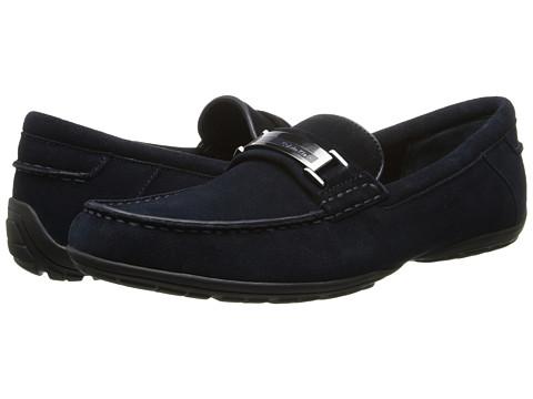 Calvin Klein - Wallace (Dark Navy Suede) Men's Slip on Shoes