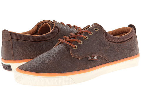 radii Footwear - The Jax (Chocolate Waxed Pebble Leather) Men's Shoes