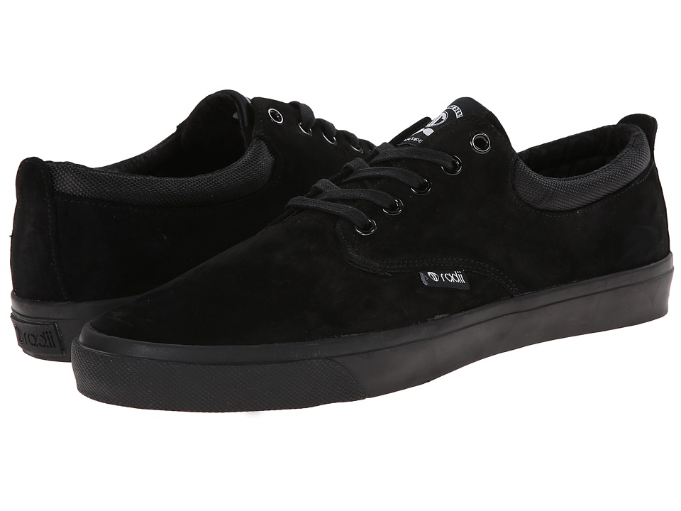 radii Footwear - The Jax (Black/Black Wolverine Suede) Men's Shoes