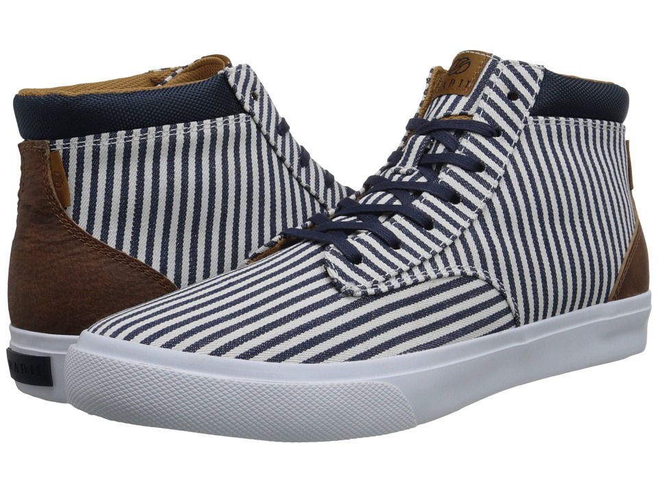 radii Footwear - Basic (Nautical Chambray/Cream) Men
