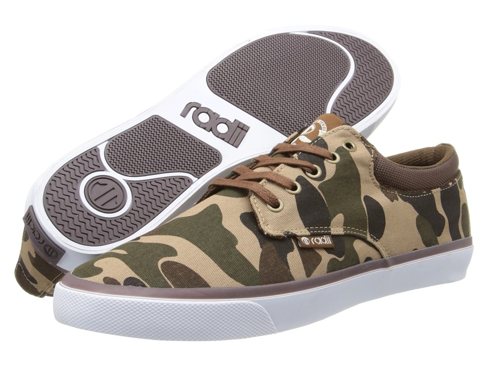 radii Footwear - The Jax (Bubble Camo) Men's Shoes