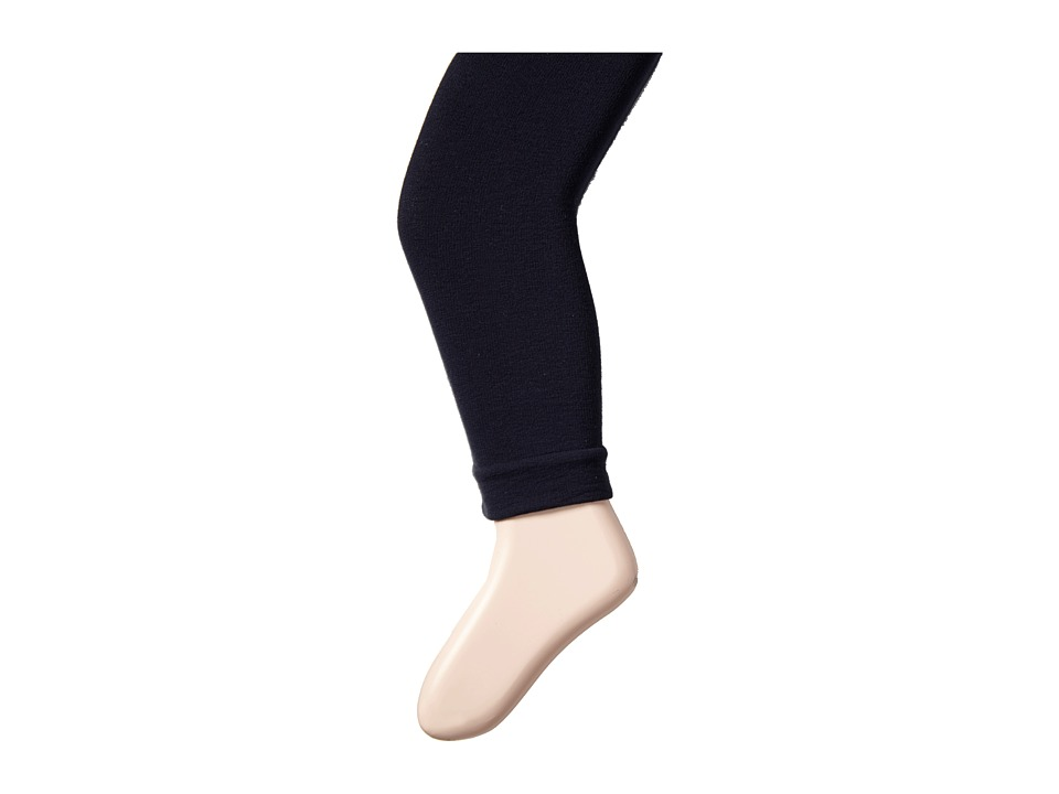 Jefferies Socks - Pima Cotton Footless Tights 3-Pack (Little Kid/Big Kid) (Navy) Hose