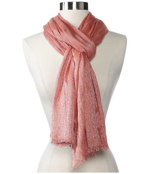 Echo Design - Shimmering Sea Wrap (Pink Coral) Scarves