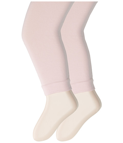 Jefferies Socks - Pima Cotton Capri 2-Pack (Infant/Toddler/Little Kid/Big Kid) (Pink) Hose