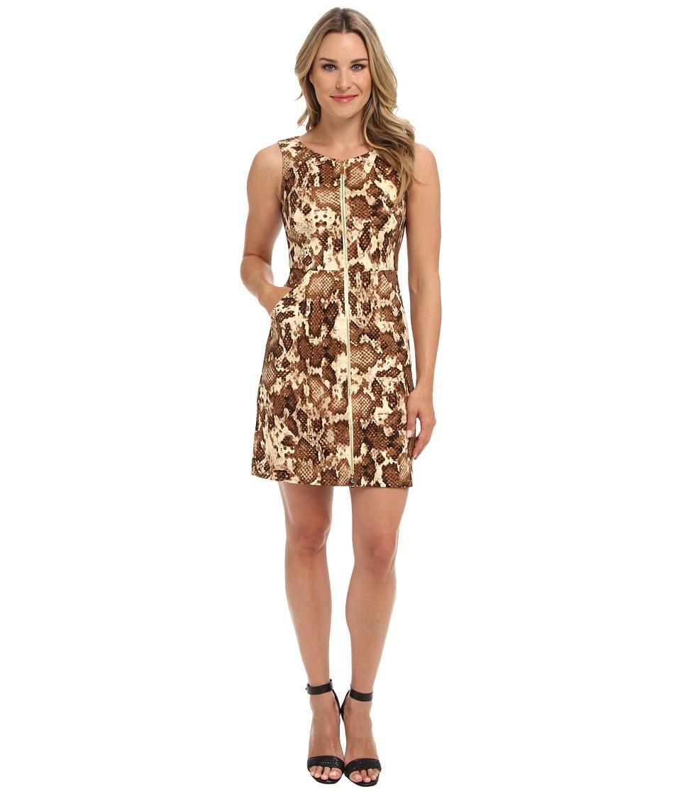 Vince Camuto - Printed Scuba Dress (Boa) Women's Dress