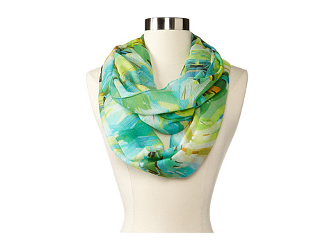 Echo Design - Kaleidoscope Loop (Green) Scarves