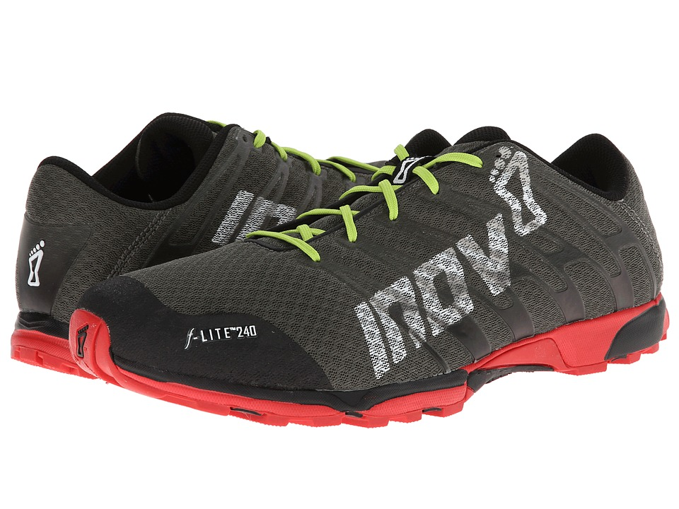 inov-8 - F-Lite 240 (Forrest/Black/Red/Lime) Men's Running Shoes
