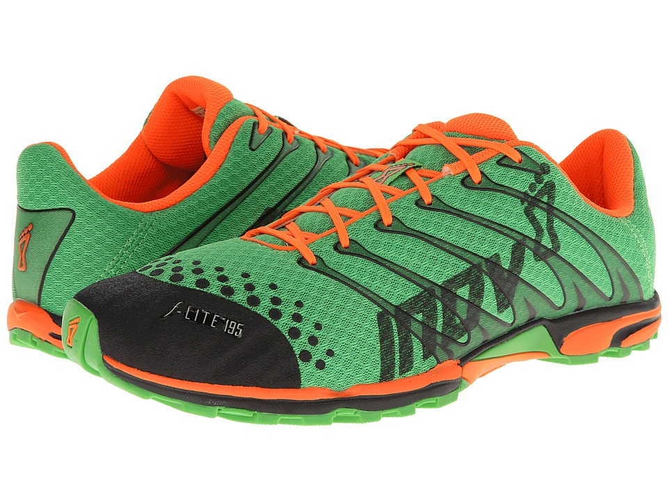 inov-8 - F-Lite 195 (Green/Orange) Men's Running Shoes